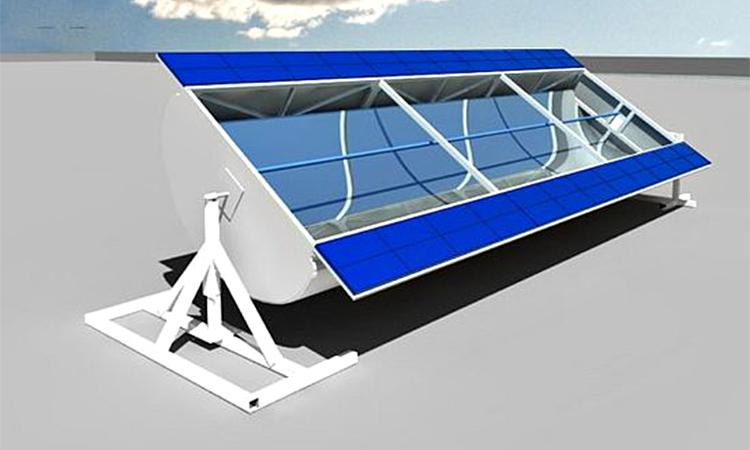 SolarX Hybrid Solar Panel. Image: SolarX