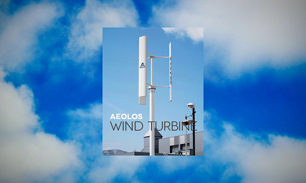 Helix Wind S322 Vertical Axis Wind Turbine