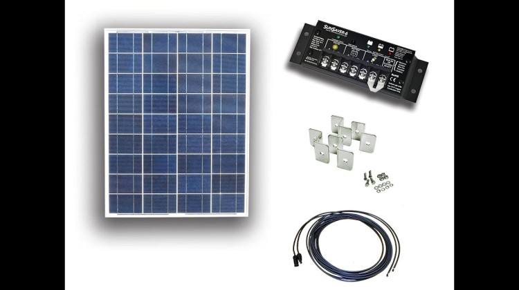 RV solar power kit – not just for an RV anymore
