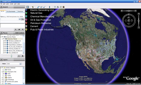 US EPA and Google Earth team up with new online Tool