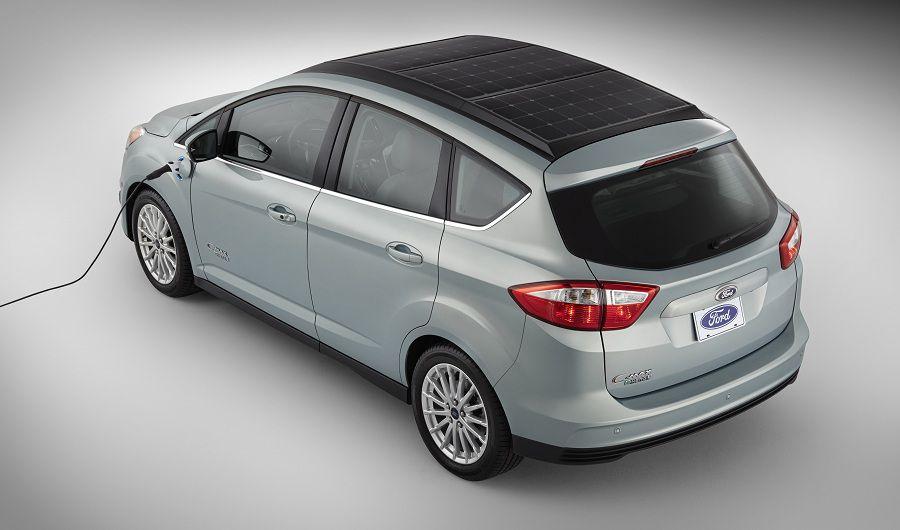Ford C-MAX Solar Energi. Photo: Ford