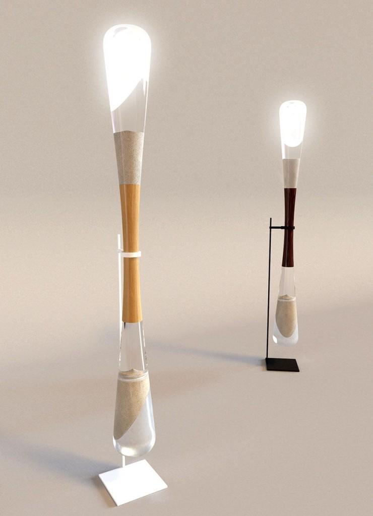 Danielle Trofe Hourglass Floor Lamp