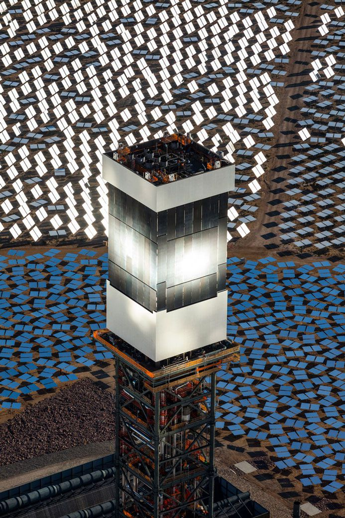 Ivanpah Solar Power Facility. Photo: Bright Source.