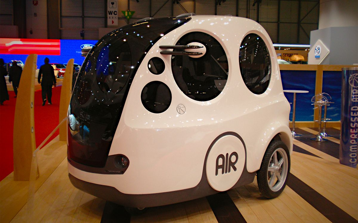 An MDI AirPod at the 2009 Geneva Motor Show. Photo: Wikimedia