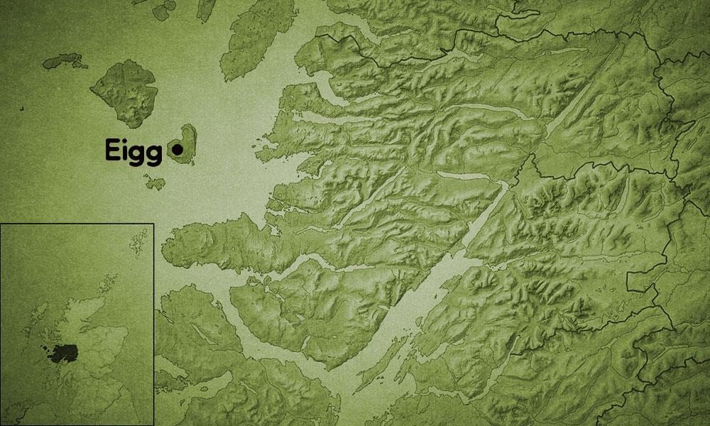 Eigg Island Green Inspiration