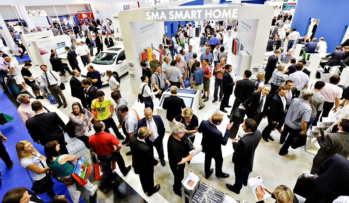 Intersolar Europe. Image: Solar Promotion GmbH.