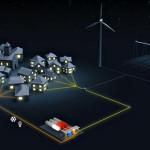 The Greenergy Box energy storage solution from Areva. Image: Areva.