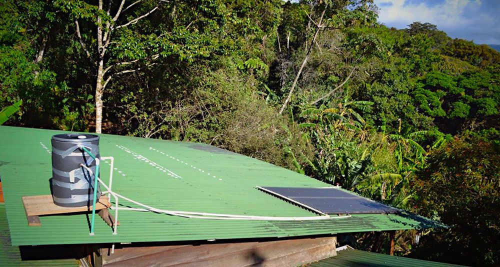 DIY easy solar hot water heater - the complete system