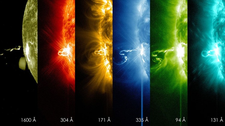 Bam! You've been hit by a solar flare