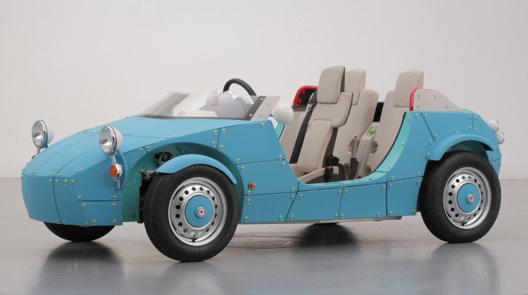 The Toyota Camatte electric concept car