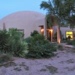 The Stout Residence in Mesa, AZ. Photo: Monolithic Dome Institute